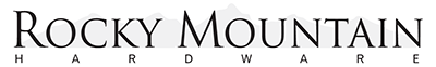 RM Hardware Logo, Decorative Hardware, Design Lighting Group, Atlanta, GA
