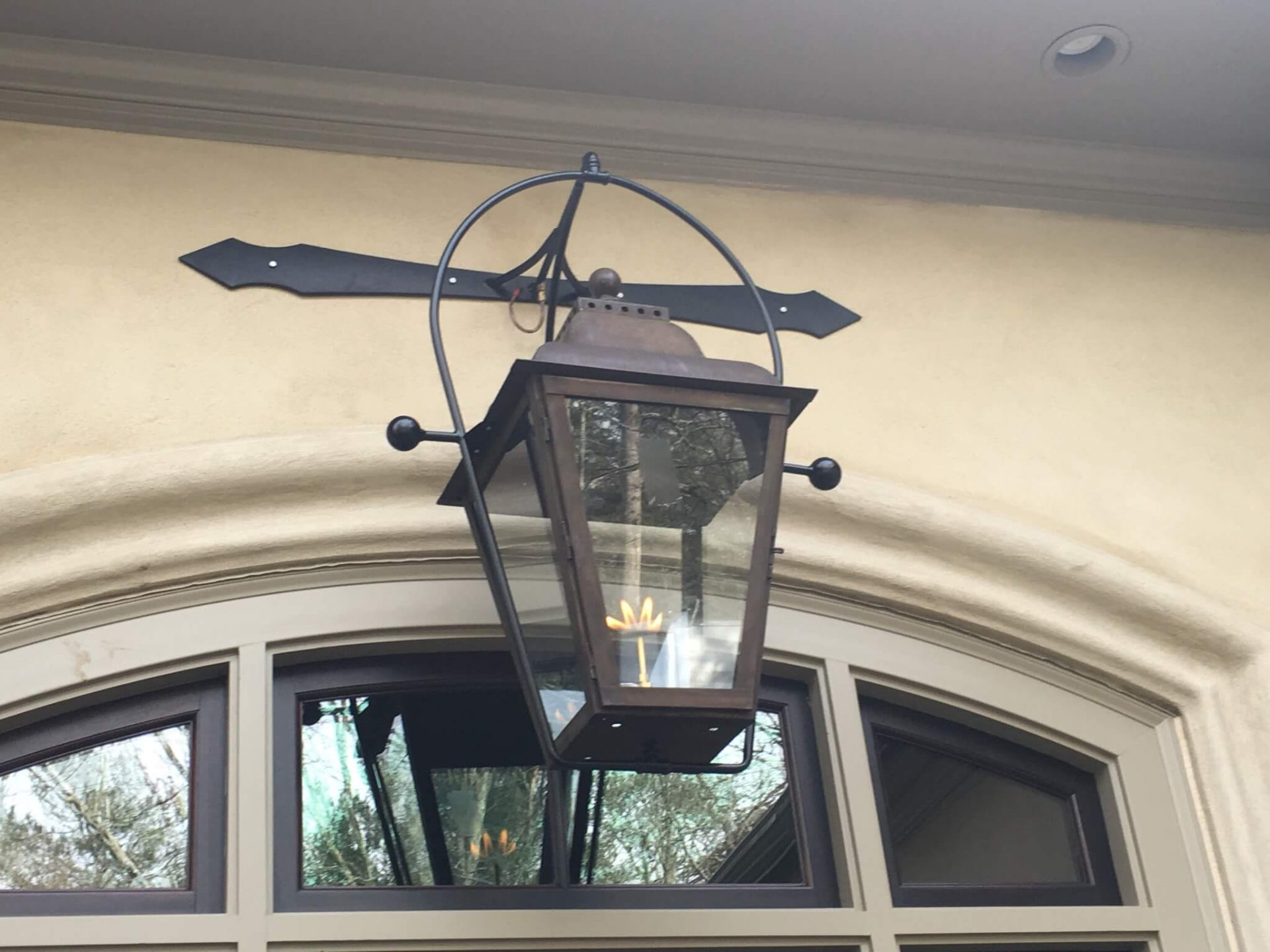 St. James custom Lantern from Design Lighting Group